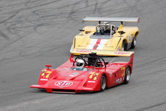 Historic March 707 Canam car Royalty Free Stock Photo