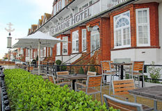 Historic marine hotel Stock Photography