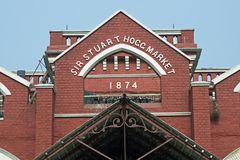 Historic Market in Kolkata Stock Photography