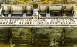 Historic Masonry balcony Royalty Free Stock Images