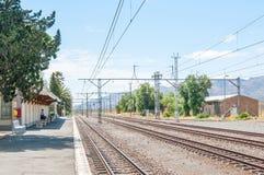 Historic Matjiesfontein station Royalty Free Stock Photos