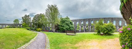 Historic McCaig`s Tower in Oban, Argyll - Scotland. Europe stock image