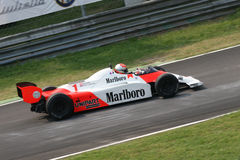 Historic mclaren lauda Stock Photo