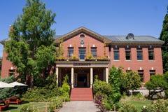 Historic McMenamins Grand Lodge stock image