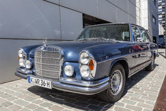 Historic Mercedes Benz W108 Stock Image