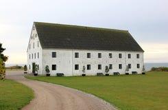 Historic merchant's store in Smygehuk, Sweden Stock Images