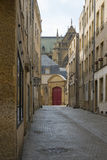 Historic Metz Street Royalty Free Stock Image