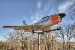 Historic military fighter jet Stock Photo
