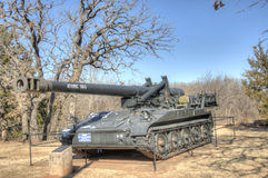 Historic military tank Stock Photography