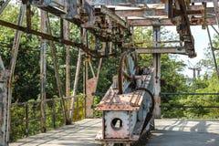 Historic mining rail cart Royalty Free Stock Image