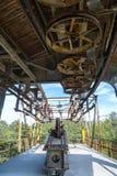 Historic mining rail cart Stock Photo