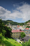 Historic mining town Banska Stiavnica Stock Photo