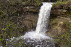 Historic Minnehaha Falls Minnesota Stock Images