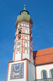 The historic monastery Kloster Andechs in Bavaria Royalty Free Stock Photo