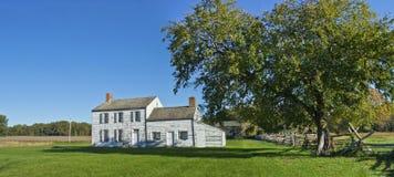 Historic Monmouth Panorama Stock Image