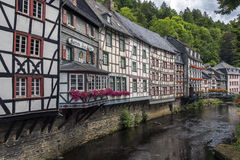 Historic Monschau - Germany Stock Photography