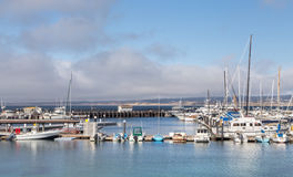 Historic Monterey Harbor and Marina Royalty Free Stock Image