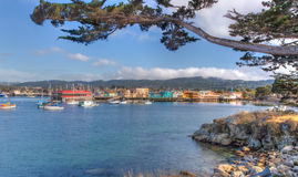 Historic Monterey Harbor and Marina Royalty Free Stock Photography