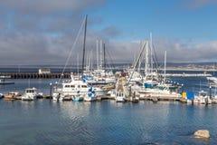Historic Monterey Harbor and Marina Stock Image