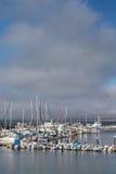 Historic Monterey Harbor and Marina Royalty Free Stock Image