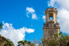 Historic monument building in la Havana Cuba.  Royalty Free Stock Photos