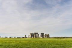 Stonehenge. Historic monument of stonehenge in United Kingdom royalty free stock image