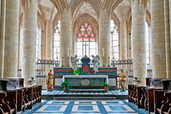 Historic and monumental church Stock Images