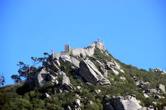 Moorish Castle Stock Photo