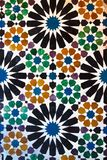 Historic moorish ceramic tile. Spain Andalusia historic moorish ceramic tile royalty free stock photos