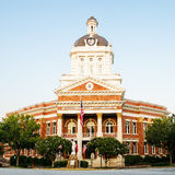 Historic Morgan County Courthouse in Madison, GA Stock Images