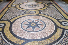 Historic Mosaic floor, Paris Stock Photo