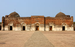 Historic Mosque. The ancient Katra Mosque at Murshidabad West Bengal, India royalty free stock photography