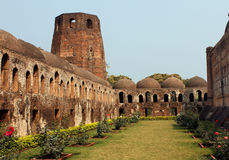 Historic Mosque. The ancient Katra Mosque at Murshidabad West Bengal, India royalty free stock images