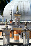 Historic mosque, Masjid Jamek at Kuala Lumpur, Malaysia Royalty Free Stock Photography