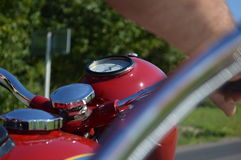Historic Motorcycle Royalty Free Stock Photography
