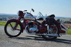 Historic Motorcycle Royalty Free Stock Photos