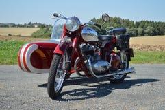 Historic Motorcycle Royalty Free Stock Photo