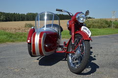 Historic Motorcycle Stock Images