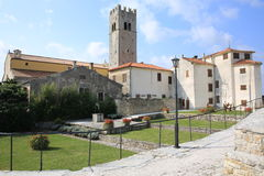 Historic Motovun in Istria, Croatia stock images