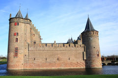 The historic Muider Castle in the Province North Holland, The Netherlands Royalty Free Stock Photography
