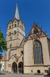 Historic Munster church in the center of Herford. Germany Stock Photography