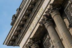 Historic museum building facade Stock Image