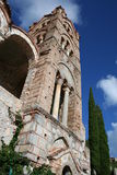 Historic mystras Royalty Free Stock Photo