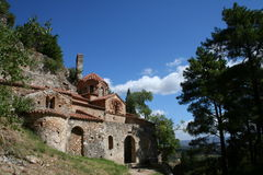 Historic mystras Royalty Free Stock Image