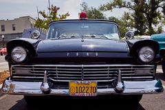 Historic Napa Police Department Police Car stock images