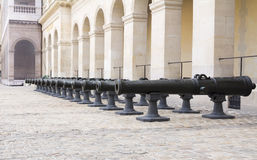 Historic Napoleonic artillery Stock Photo