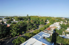 Historic neighborhood in Colonia del Sacramento, Uruguay Stock Image