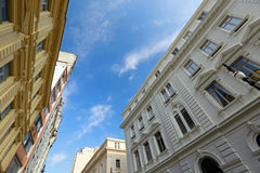 Historic neoclassical building that houses the Secretary of Just Royalty Free Stock Photography