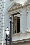Historic neoclassical building that houses the Secretary of Just Royalty Free Stock Photos