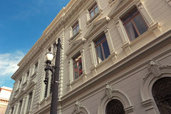 Historic neoclassical building that houses the Secretary of Just Stock Image
